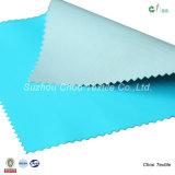 100%年のポリエステル完全鈍いあや織りは防水ファブリックのための繭紬を裂停止する