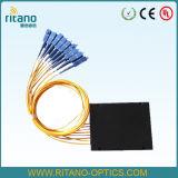 1X16CH PLC van de optische Vezel Splitser