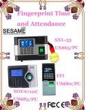 スタンドアロンカラースクリーンのアクセス制御ターミナル時間出席(SA5)