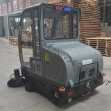 Industrielle Fußboden-ausgedehnte Maschinen-batteriebetriebene Fahrt auf Kehrmaschine