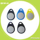 RFID 13.56MHz의 NFC S50 S70 초경량 Desfire Ntag203 포브 키 카드 태그
