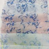Tela impresa color fresco de la ropa del Organza del poliester de la manera