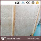 平板または床タイルが付いているローズの磨かれた新しく白いベージュ大理石の平板