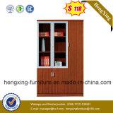 Forniture di ufficio moderne della melammina dei portelli dello scaffale di vetro di alluminio dell'ufficio (HX-4FL012)