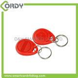 高品質のカスタム受動のABS RFID Keychain札