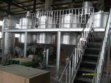 Edible Oil Planta Refinería de aceite de soja, semillas de girasol y aceite de cacahuete Aceite