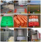 Frontière de sécurité en acier de jardin de treillis métallique de clôture de garantie 358 double