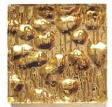 tuiles de mosaïque en verre de vrai or
