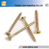 DIN7505는 위쪽을 넓힌 헤드에 의하여 직류 전기를 통한 마분지 나사를 골라내거나 두배로 한다
