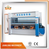 Machine chaude hydraulique de presse pour le placage
