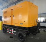 De goedkopere Mobiele Diesel 160kw 200kVA Reeks van de Generator met Britse Motor