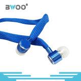 Bwoo 도매 다채로운 특별한 디자인 금속 입체 음향 이어폰