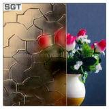 310mm Gekleurd Duidelijk Gevormd Glas met ISO9001 & En12150