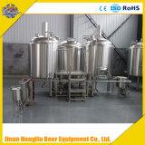 1000Lビール醸造所機械、ステンレス鋼の醸造物のやかん