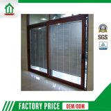 ブラインドデザイン(WJ-001)のアルミニウムスライドガラスドア