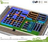 Lustiger Sprung-Innentrampoline-Park-Südafrika-Projekt-Lieferant