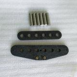 알니코는 2개의 로드 Flatwork 시작 기타 픽업 장비를 검게 한다