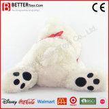 Urso do brinquedo do animal enchido do Valentim para a menina