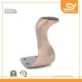 金属の足のZamakの家具のハードウェアのアクセサリのソファーのフィート