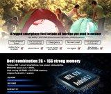 "La ROM IP68 del RAM 16g de la base 2g del patio de HD Mtk6735 del teléfono móvil original M3 5.0 de Vphone No. 1 "" impermeabiliza negro elegante del teléfono del teléfono celular 3300mAh 4G Lte"