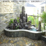 Mini Garden Fountain Rockery Pool Decoração Indoor Wall Fountain