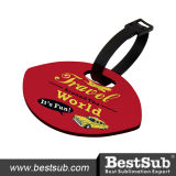Tag Shaped da bagagem do HB do Sublimation do rugby de Bestsub (MXLP01)
