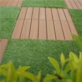 プラスチック床タイルをかみ合わせる屋外DIY PVCタイル