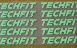 Terminar el método de la prensa sobre la impresión de la camiseta de Label&Rubberized del alfabeto del silicón del traspaso térmico