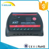 PWM contrôleur de charge de picovolte de cellules du panneau solaire 12V/24V de Btd-10A