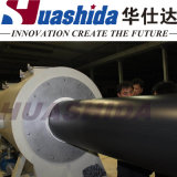 HDPE Isolierungs-Umhüllungen-Rohr-Strangpresßling-Zeile dünne Wand-Rohr Produciton Zeile