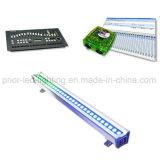 Wand-Unterlegscheibe-Stab DMX Pixel-Steuer-RGB-LED (90W)