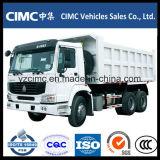 HOWO 6X4 371HP 덤프 트럭 18cbm Hw76