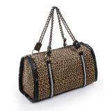 نمر [بو] جلد تصميم نمط حمل أعلى مقبض بوسطن حقيبة