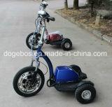 바구니를 가진 장애자를 위한 36V 350W 12ah 3 바퀴 세륨 승인되는 전기 Zappy 스쿠터