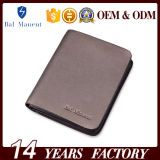 Бумажник кредитной карточки изготовленный на заказ портмона краткости логоса чисто кожаный