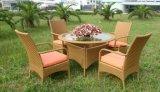 流行の屋外の藤の表および椅子