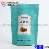 Kundenspezifischer gedruckter Fastfood- Aluminiumfolie-Beutel mit Reißverschluss für Tee/Kaffee