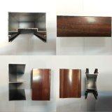 Perfil de alumínio para Windows e Door Alumínio de madeira Profiles&#160 da grão; Perfis anodizada e do pó do revestimento do alumínio