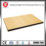 Hojas blancas del laminado del compacto para las paredes