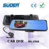4.3 Caja negra DVR (MX-236B) del vehículo de la cámara de opinión trasera del coche de Inch1080p HD