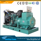 Production d'électricité réglée se produisante diesel de générateur électrique à faible bruit de Genset