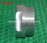 CNC, der das Ersatzteil Aluminium verwendet für Maschinerie in der Qualität maschinell bearbeitet