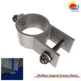 Estructura de montaje de aluminio solar de la agua caliente (XL055)