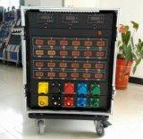 Rectángulo de interruptor de control de potencia con los contadores de Digitaces