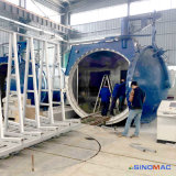 autoclave del vidrio de 3000X6000m m para la instalación de producción del vidrio laminado