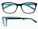 Frame van de Oogglazen van Eyewear het In het groot China van de Acetaat van de manier Optische