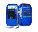 Держатель пасспорта бумажника перемещения устроителя документа полиэфира