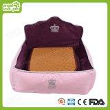 Bâti confortable d'animal familier de coton de peluche de Pricess