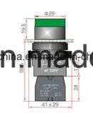 Interruttore di pulsante illuminato con Ce/CB/CCC