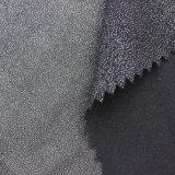 Polyester-silbernes gepresstes helles neues Art-Form-Gewebe 100% für Frauen-Kleid